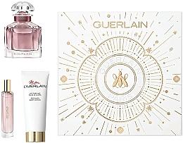 Düfte, Parfümerie und Kosmetik Guerlain Mon Guerlain Intense - Duftset (Eau de Parfum 50ml + Eau de Parfum Mini 10ml + Körperlotion 75ml)