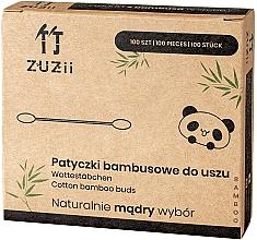Düfte, Parfümerie und Kosmetik Wattestäbchen aus Bambus - Zuzii Bamboo Cotton Buds
