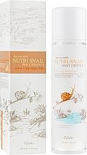 Düfte, Parfümerie und Kosmetik Essenz für das Gesicht gegen Falten mit Schneckenextrakt - Esfolio Nutri Snail Daily Essence