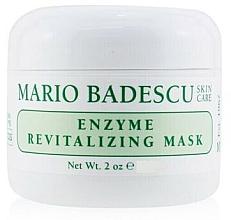 Düfte, Parfümerie und Kosmetik Feuchtigkeitsspendende Gesichtsmaske für trockene oder Mischhaut mit Fruchtenzymen - Mario Badescu Enzyme Revitalizing Mask