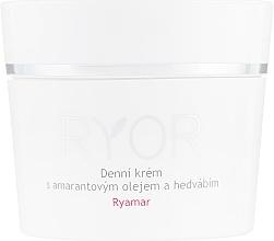 Düfte, Parfümerie und Kosmetik Tagescreme für das Gesicht mit Amaranthöl und Seidenextrakt - Ryor Ryamar