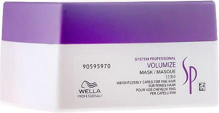 Volumenmaske für feines Haar - Wella Professionals Wella SP Volumize Mask