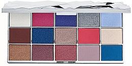 Düfte, Parfümerie und Kosmetik Lidschattenpalette - Makeup Revolution Glass Mirror Eyeshadow Palette