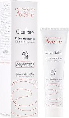 Reparierende Gesichtscreme für empfindliche und gereizte Haut - Avene Cicalfate Repair Cream