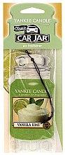 Düfte, Parfümerie und Kosmetik Papier-Lufterfrischer Vanilla Lime - Yankee Candle Car Jar Vanilla Lime
