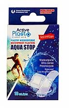 Düfte, Parfümerie und Kosmetik Wasserfeste Pflaster 10 St. - Ntrade Active Plast First Aid Waterproof Plasters Aqua Stop Mix