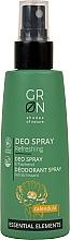 Düfte, Parfümerie und Kosmetik Erfrischendes Deospray mit Ringelblumenextrakt - GRN Deo Spray Calendula
