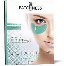 Düfte, Parfümerie und Kosmetik Intensiv feuchtigkeitsspendende erfrischende und verjüngende Patches für die Augenpartie mit Aloe - Patchness Eye Patch Aloe