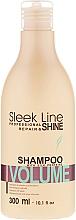 Düfte, Parfümerie und Kosmetik Shampoo für mehr Haarvolumen - Stapiz Sleek Line Volume Shampoo