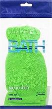 Düfte, Parfümerie und Kosmetik Badehandschuh aus Leinen - Suavipiel Bath Micro Fiber Mitt Extra Soft