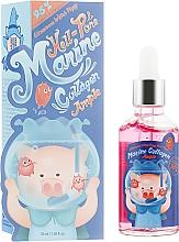 Düfte, Parfümerie und Kosmetik Gesichtsserum mit Meereskollagen - Elizavecca Hell Pore Marine Collagen Ample 95%