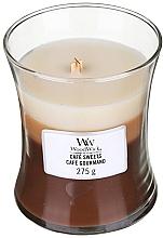 Düfte, Parfümerie und Kosmetik Duftkerze im Glas Café Sweets - WoodWick Hourglass Trilogy Candle Café Sweets