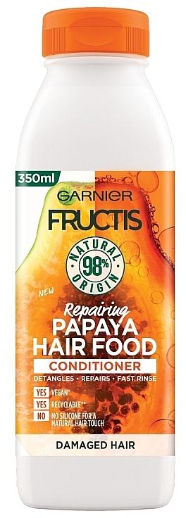 Revitalisierender Conditioner mit Papaya - Garnier Fructis Repairing Papaya Hair Food Conditioner