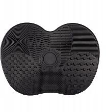 Düfte, Parfümerie und Kosmetik Silikonmatte zum Waschen und Reinigen von Bürsten Größe S schwarz - Lash Brown