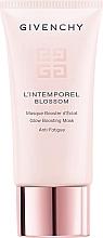 Düfte, Parfümerie und Kosmetik Aufhellende Gesichtsmaske gegen Anzeichen von Müdigkeit - Givenchy L'Intemporel Blossom Glow Boosting Mask