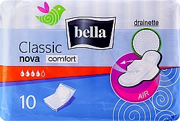 Düfte, Parfümerie und Kosmetik Damenbinden Classic Nova Comfort Drainette 10 St. - Bella