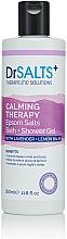 Düfte, Parfümerie und Kosmetik Bade- und Duschgel mit Lavendel und Zitronenmelisse - Dr Salts + Calming Therapy Magnesium