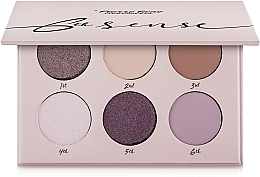 Düfte, Parfümerie und Kosmetik Lidschattenpalette - Pierre Rene 6th Sense Eyeshadow Palette