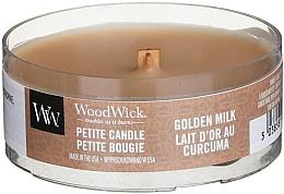 Düfte, Parfümerie und Kosmetik Mini Duftkerze im Glas Golden Milk - WoodWick Petite Candle Golden Milk