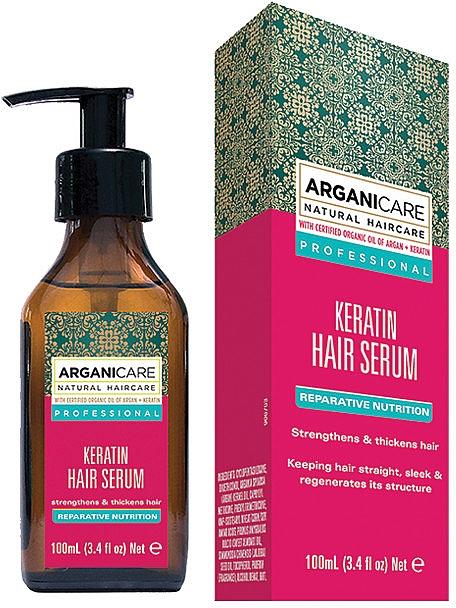 Pflegendes Haarserum mit Keratin - Arganicare Keratin Repairing Hair Serum