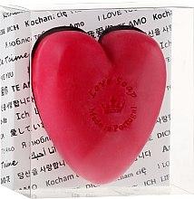 Düfte, Parfümerie und Kosmetik Herzförmige Naturseife im transparenten Geschenkbox - Essencias De Portugal Love Soap Transparent Box