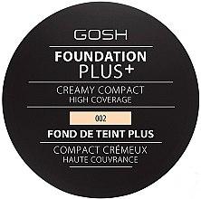 Düfte, Parfümerie und Kosmetik Kompakt-Foundation - Gosh Foundation Plus + Creamy Compact High Coverage