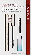 Düfte, Parfümerie und Kosmetik Make-up Set (Mascara 8ml + Make-up Entferner 10ml + Augenkonturenstift 0.39g) - Clarins