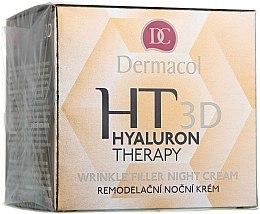 Düfte, Parfümerie und Kosmetik Nachtcreme mit reiner Hyaluronsäure - Dermacol Hyaluron Therapy 3D Wrinkle Night Filler Cream