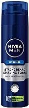 Düfte, Parfümerie und Kosmetik Rasierschaum bei extra starkem Bartwuchs - Nivea For Men Strong Beard Shaving Foam