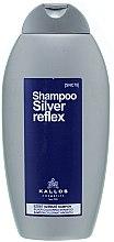 Düfte, Parfümerie und Kosmetik Silbershampoo gegen Gelbstich für blondes und graues Haar - Kallos Cosmetics Silver Reflex Shampoo