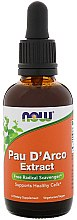 Düfte, Parfümerie und Kosmetik Nahrungsergänzungsmittel Pau D'Arco Extract - Now Foods Pau D'Arco Extract
