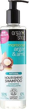 Nährendes Shampoo mit Arganöl & Amla - Organic Shop Argan & Amla Nourishing Shampoo