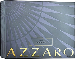 Düfte, Parfümerie und Kosmetik Azzaro Wanted - Duftset (Eau de Toiette 100ml + Deostick 75ml)