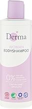 Düfte, Parfümerie und Kosmetik Duschgel - Derma Eco Woman Body Shampoo