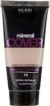 Düfte, Parfümerie und Kosmetik Langanhaltende Foundation mit Mineralkomplex - Ingrid Cosmetics Mineral Cover Make Up Foundation