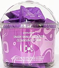 Düfte, Parfümerie und Kosmetik Reinigungsschaum mit Kollagen - Ayoume Enjoy Mini Collagen Cleansing Foam
