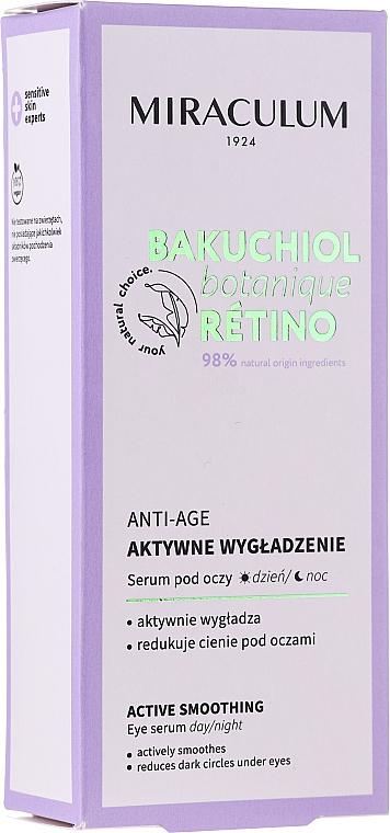 Aktiv glättendes Anti-Aging Serum gegen dunkle Augenringe - Miraculum Bakuchiol Botanique Retino Anti-Age Serum