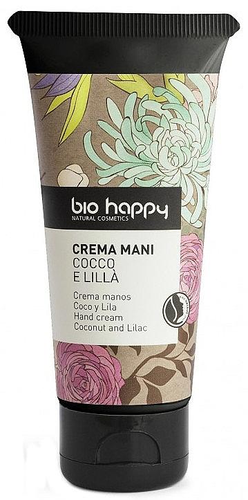 Handcreme mit Kokosnuss und Lilak - Bio Happy Coco & Lilac Hand Cream