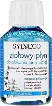 Düfte, Parfümerie und Kosmetik Mundspülung mit Pfefferminze, Salbei und Rosmarin - Sylveco Herbal Mouthwash (Mini)