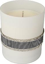 Düfte, Parfümerie und Kosmetik Duftkerze im Glas Crystal Black, Schwarz und weiß - Artman Crystal Black Glass Scented Candle Ø8xH9.5cm