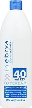 Düfte, Parfümerie und Kosmetik Creme-Oxydant Saphir-Kollagen 40, 12% - Inebrya Bionic Activator Oxycream 40 Vol 12%