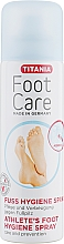 Düfte, Parfümerie und Kosmetik Pflegendes und schützendes Fußspray gegen Fußpilz - Titania Foot Care Spray