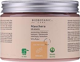 Düfte, Parfümerie und Kosmetik Feuchtigkeitsspendende Haarmaske mit roten Trauben - BioBotanic BioCare Hydrating Mask