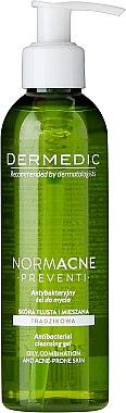Gesichtsreinigungsgel - Dermedic Normacne Antibacterial Cleansing Facial Gel