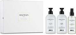 Düfte, Parfümerie und Kosmetik Haarpflegeset - Balmain Paris Hair Couture Volume Care Set (Haarshampoo 300ml + Haarspülung 300ml + Haarspray 200ml)