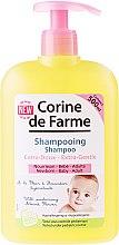 Düfte, Parfümerie und Kosmetik Extra sanftes Shampoo mit Mandelblüten für Babys und Kinder - Corine de Farme Baby