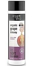 Düfte, Parfümerie und Kosmetik Pflegeshampoo mit Bio Weintraube & Honig - Organic Shop Organic Grape and Honey Soft Shampoo
