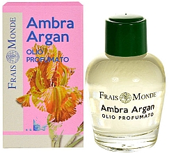 Düfte, Parfümerie und Kosmetik Parfümiertes Öl Amber & Argan - Frais Monde Ambra Argan Perfume Oil