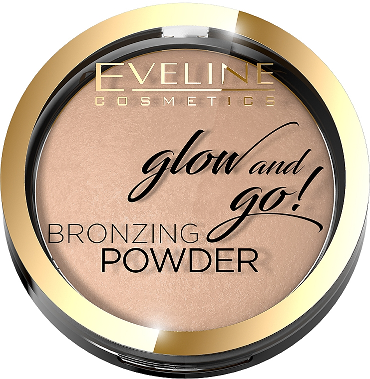 Bronze-Puder - Eveline Cosmetics Glow & Go Bronzing Powder