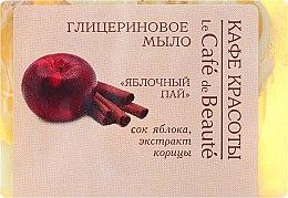 "Düfte, Parfümerie und Kosmetik Glyzerinseife ""Apfelkuchen"" - Le Cafe de Beaute Glycerin Soap"